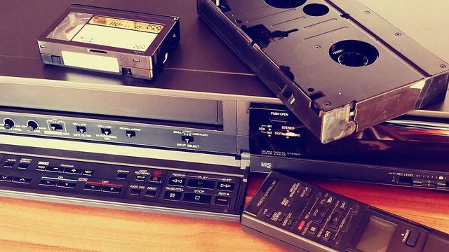 Conversione VHS in DVD o altro Formato digitale
